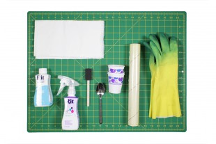 How to Dye Fabric - Painting with Dye - Materials