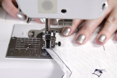 DIY Cell Phone Wristlet - Step 3: Sew the pieces together