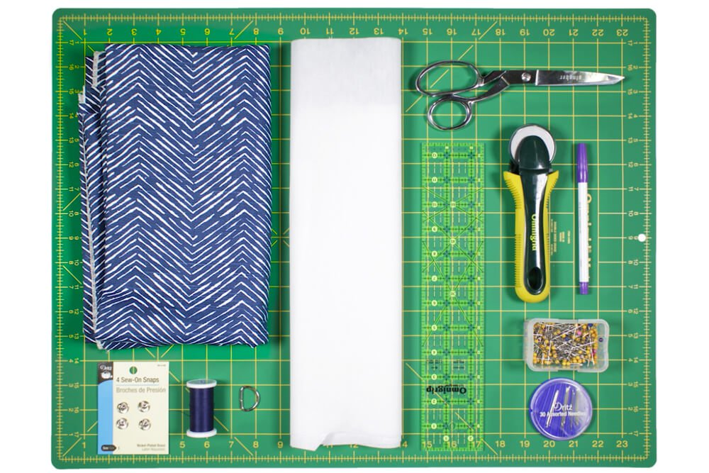 DIY Cell Phone Wristlet Materials