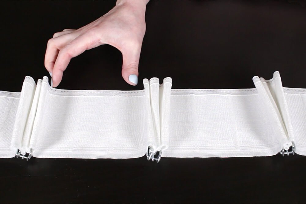 b91b18a130b34 How To Make Pleated Curtains with Pleat Tape   Hooks - Step 1  Measure ...