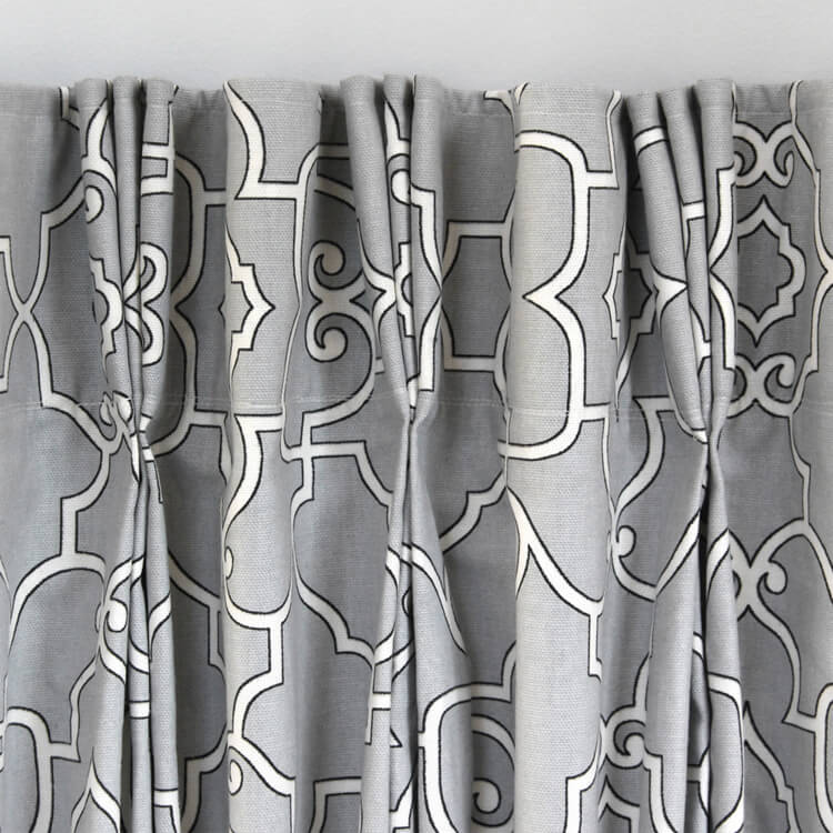 How to Make Pinch Pleat Curtains with Pleater Tape