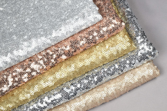 Prom Dress Fabric - Sequin Fabric