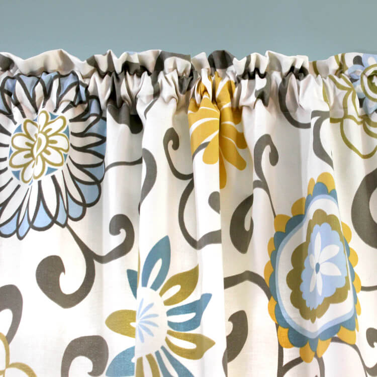 How to Make Rod Pocket Curtains