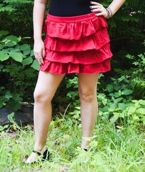 How to Sew a Tiered Ruffle Skirt