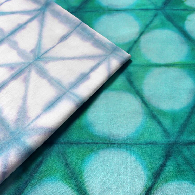 How to Dye Fabric: Shibori Folding Technique