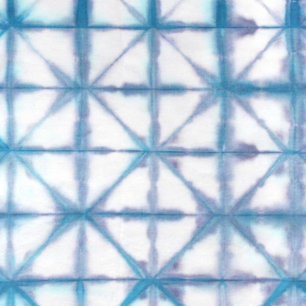 How to dye fabric shibori folding technique ofs makers mill how to dye fabric shibori folding technique finished nvjuhfo Images