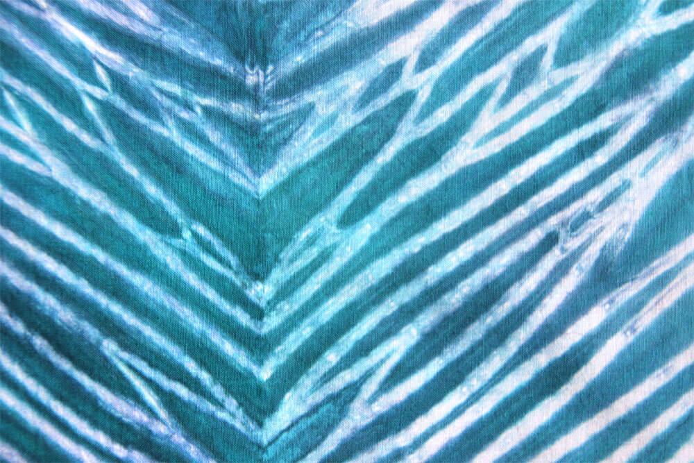 Shibori Pole Dyeing Technique Detail