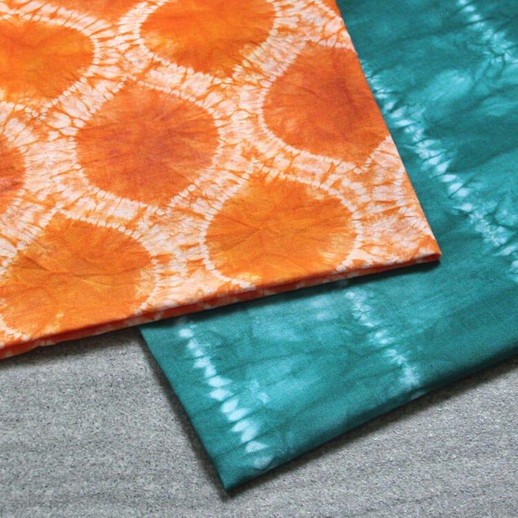 How To Dye Fabric: Shibori Tie Dye with Stitch Resist