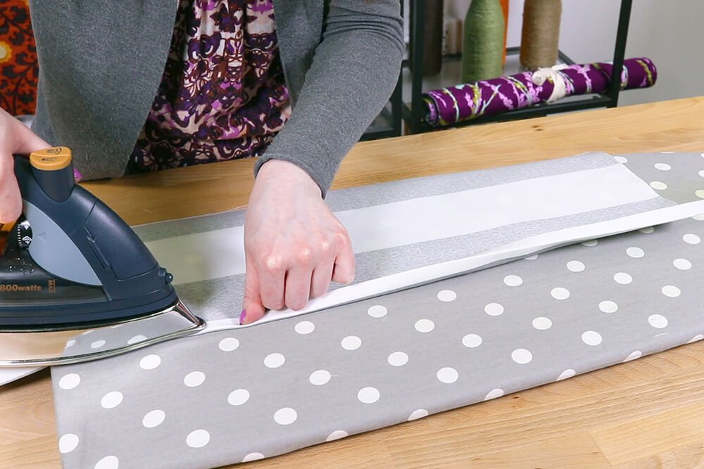 How to Make a Shower Curtain - Step 2