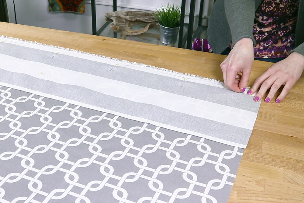 How to Make a Shower Curtain - Step 3