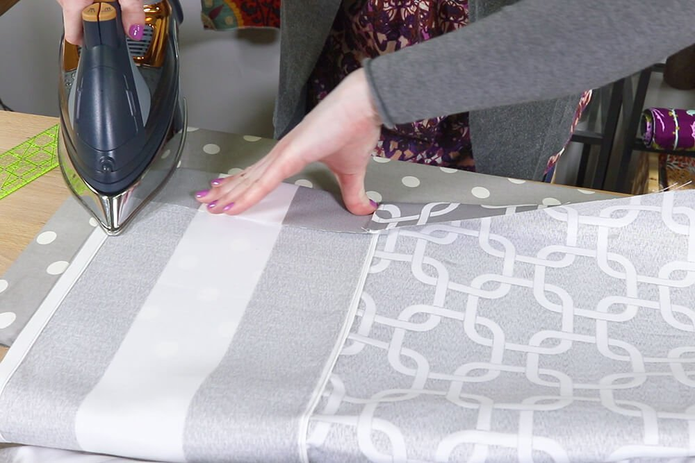 How to Make a Shower Curtain - Step 4