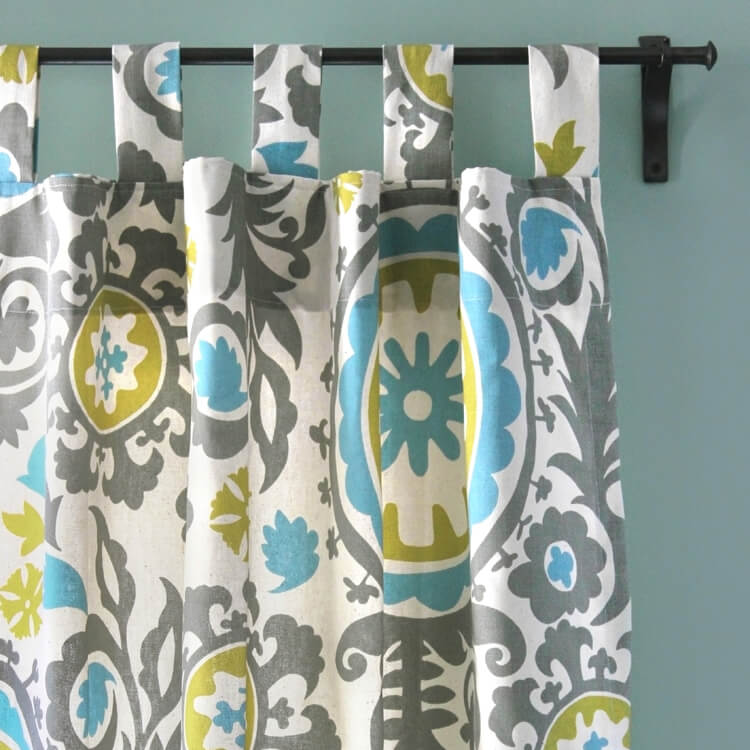 How To Make Tab Top Curtains Ofs Maker S Mill