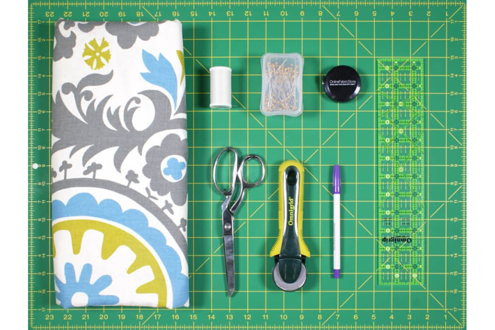 DIY Tab Top Curtains - Materials
