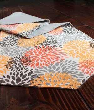 How To Sew a Reversible Table Runner
