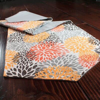 How to sew a reversible table runner watchthetrailerfo