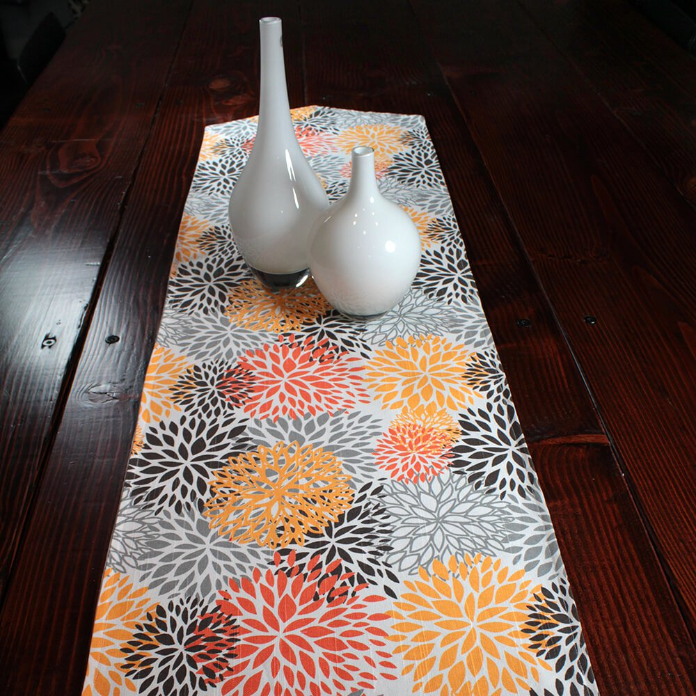 How to Sew a Reversible Table Runner - Finished