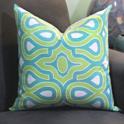 Sew Decorative Pillow Fabric : How To Sew a Throw Pillow OFS Maker s Mill