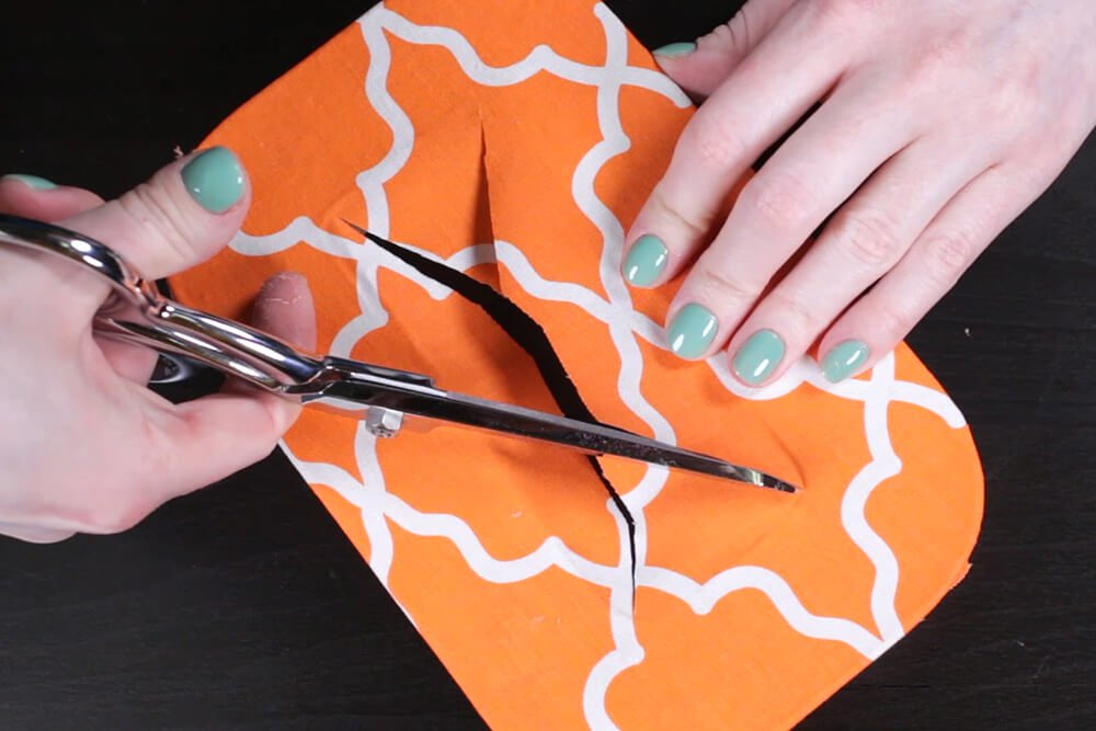 How to Decoupage with Fabric - Cover with a layer of fabric