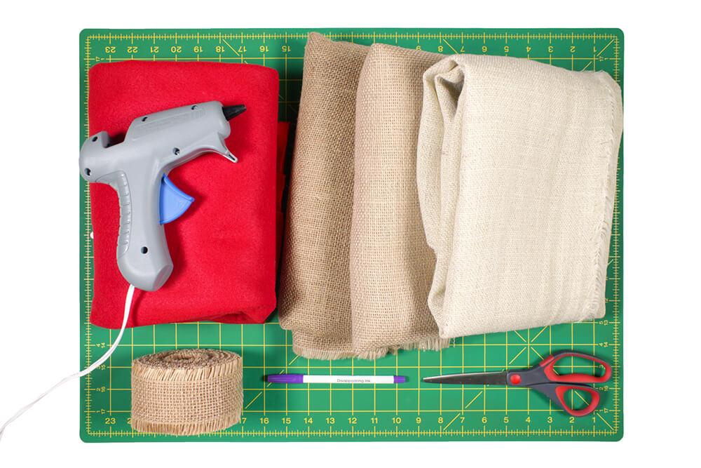 Burlap Tree Skirt Materials