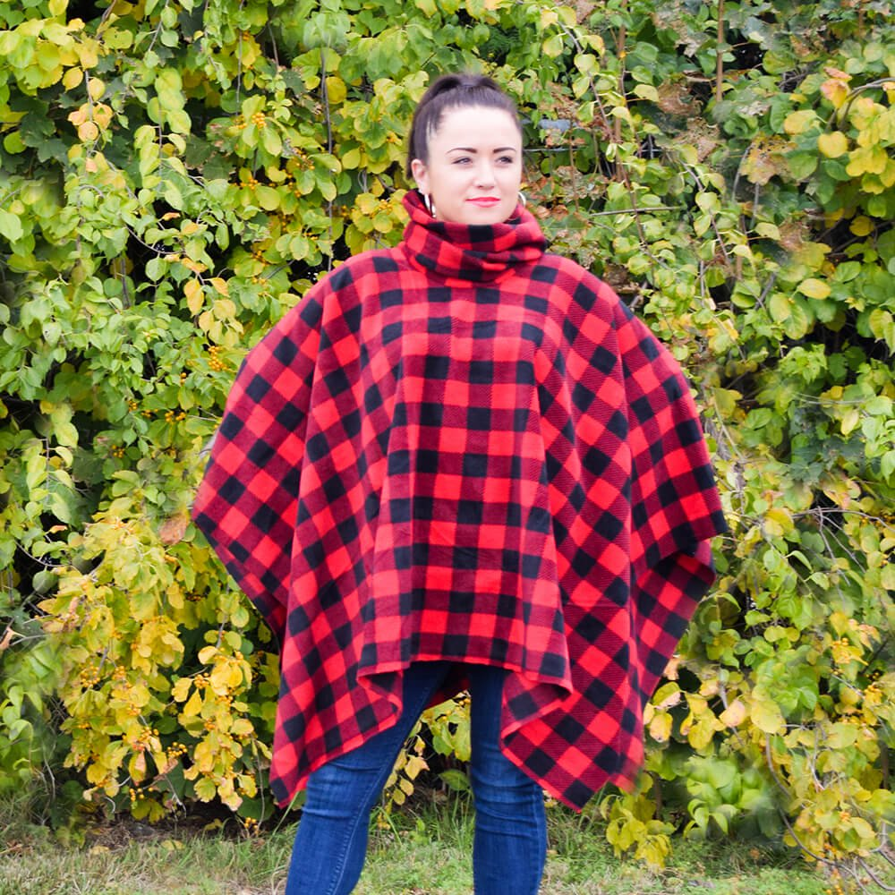 How to Make a Fleece Poncho | OFS Maker's Mill