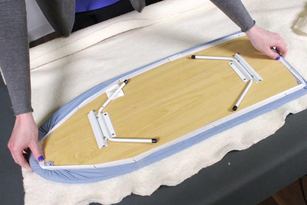 Ironing Board Cover - Cut the fabric