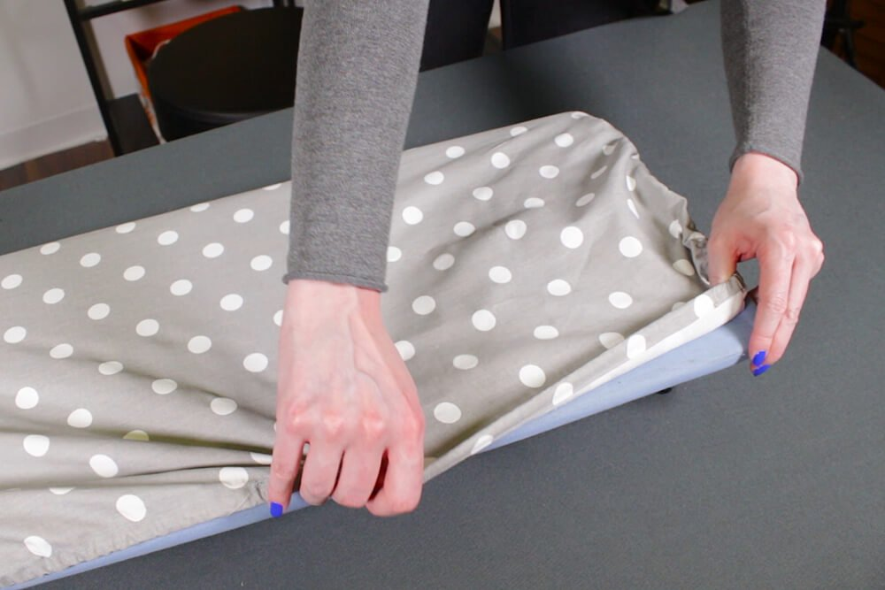Ironing Board Cover - Add the elastic