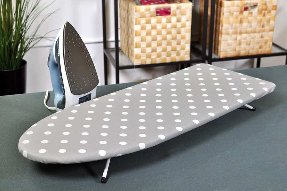 How to Make an Ironing Board Cover - Finished