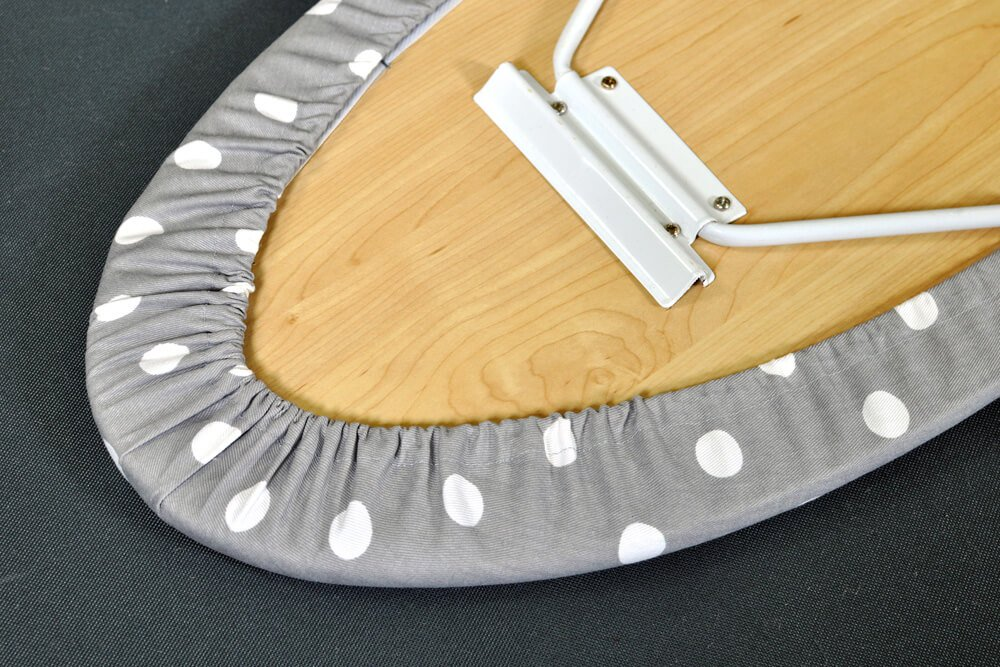How to Make an Ironing Board Cover - Close Up