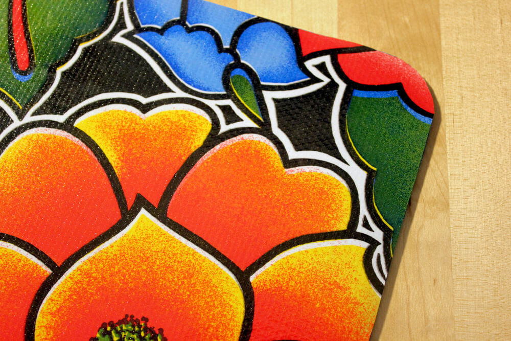 Oilcloth Mouse Pad - Close Up