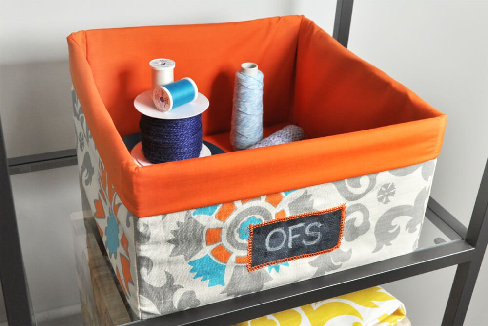 ofs-cubicle-makeover-fabric-storage-bins