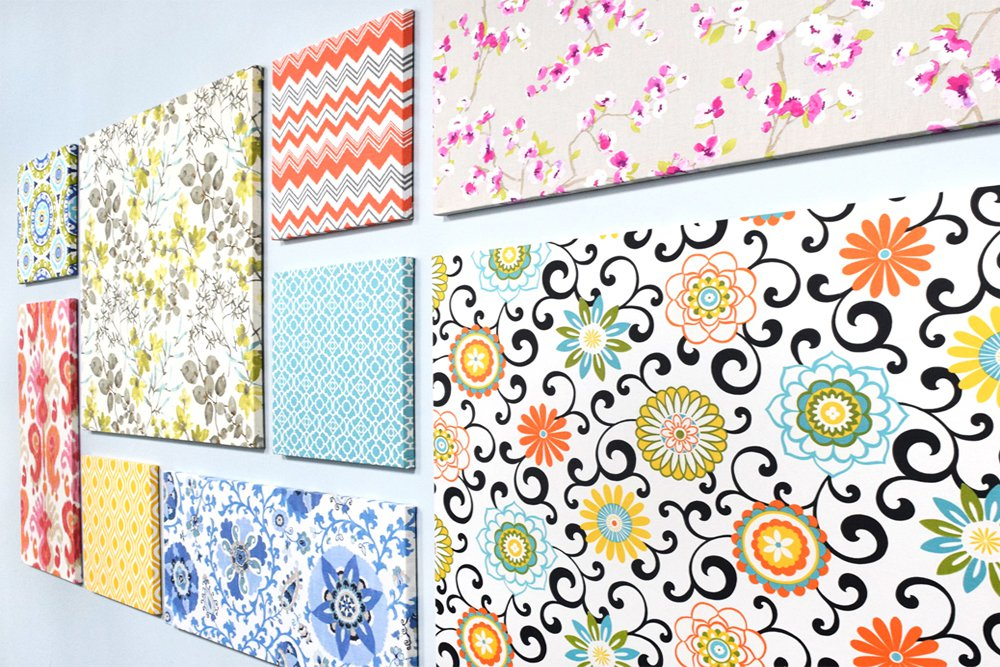 ofs cubicle makeover fabric wall art