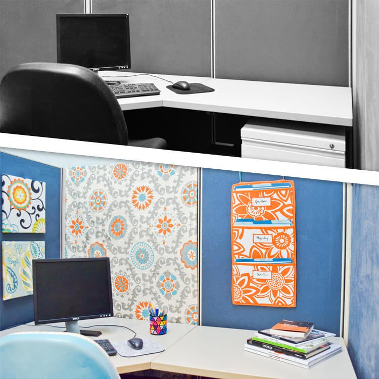 OFS Cubicle Makeover