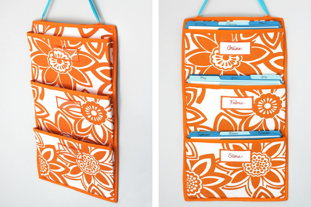 ofs cubicle makeover hanging pocket organizer