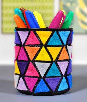 How to Make a Felt Pencil Holder