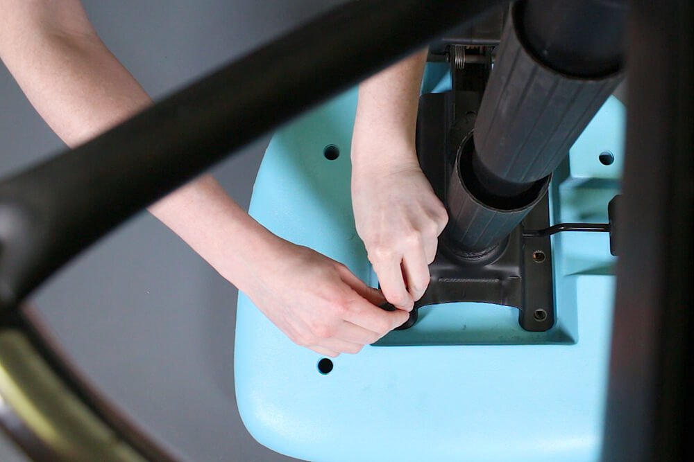 How to Reupholster Office Chairs - Reassemble the chair