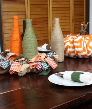 4 Easy Fall Table Decorations