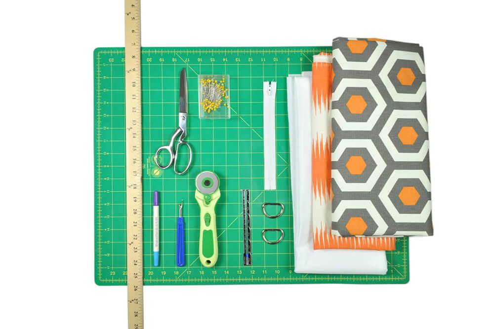 How to Make a Messenger Bag - Materials