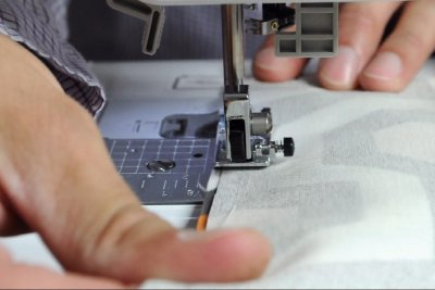 How to Make a Messenger Bag - Construct the inside pockets