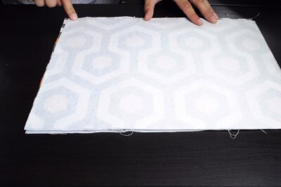 How to Make a Messenger Bag - Construct the zipper pocket and join the outside