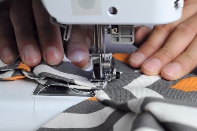 How to Make a Messenger Bag - Construct the Strap
