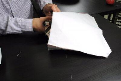 How to Make a Messenger Bag - Combine everything