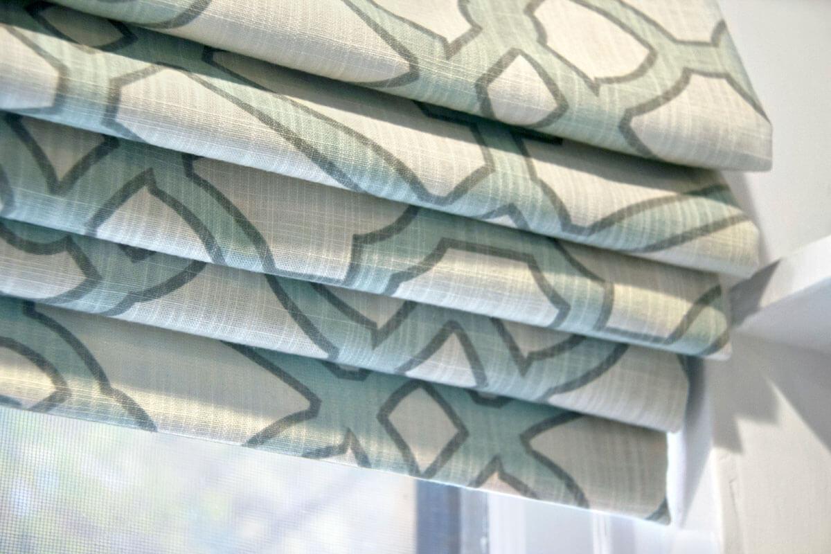 Roman Shade - Folded