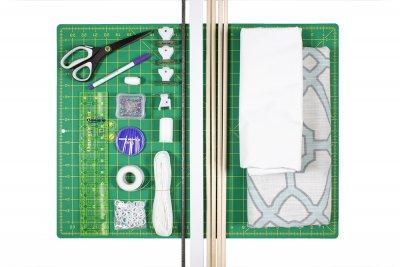 How to Make a Roman Shade - Materials