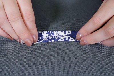 How to Make Fabric Coasters - Make the bias tape