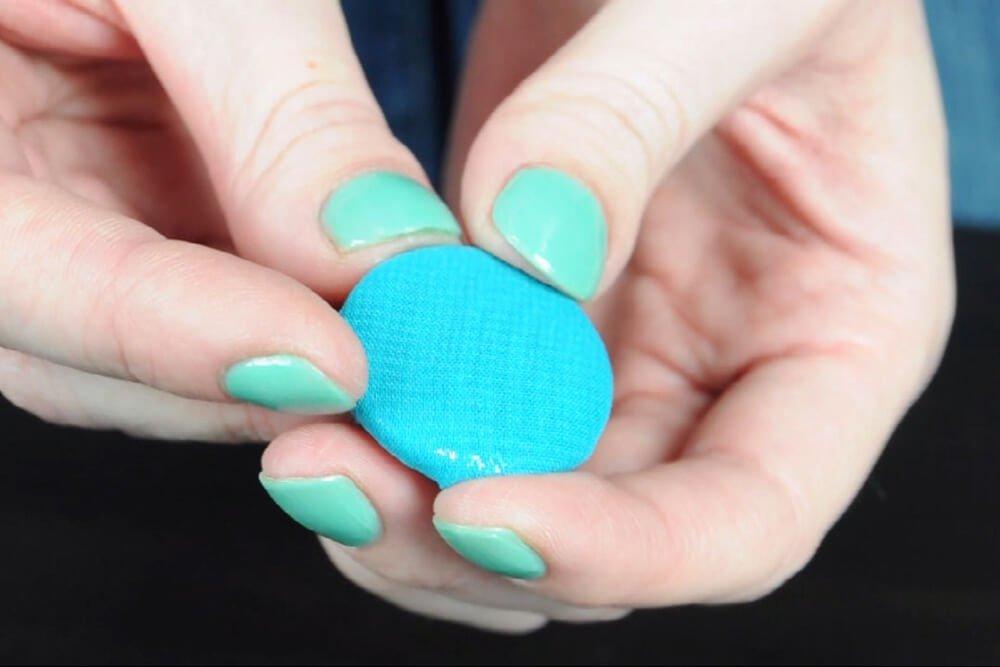 Dritz Half Ball Cover Buttons - Lightweight fabrics