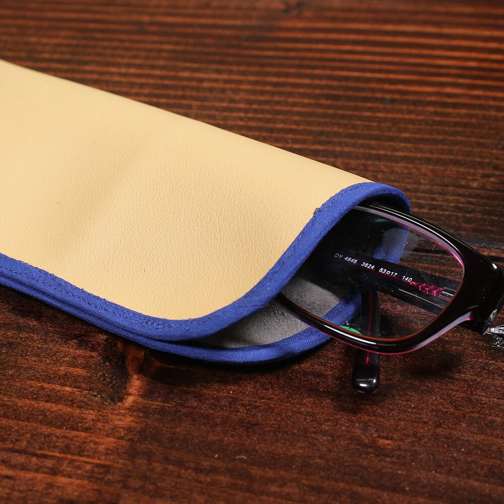 How to Make an Eyeglass Case - Finished