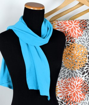 How To Make a Gauze Scarf