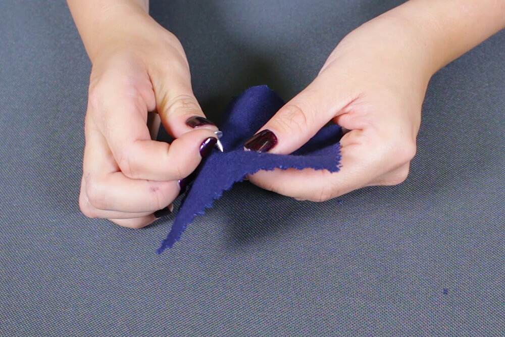 How To Attach a Jeans Button - Step 1
