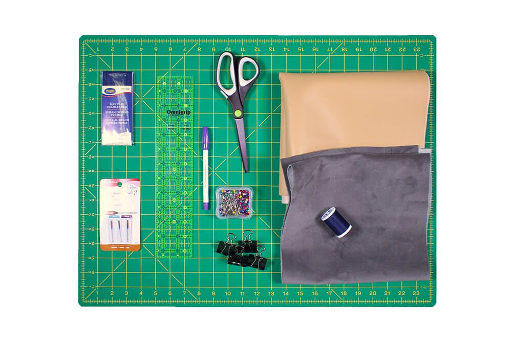 How to Make an Eyeglass Case - Materials