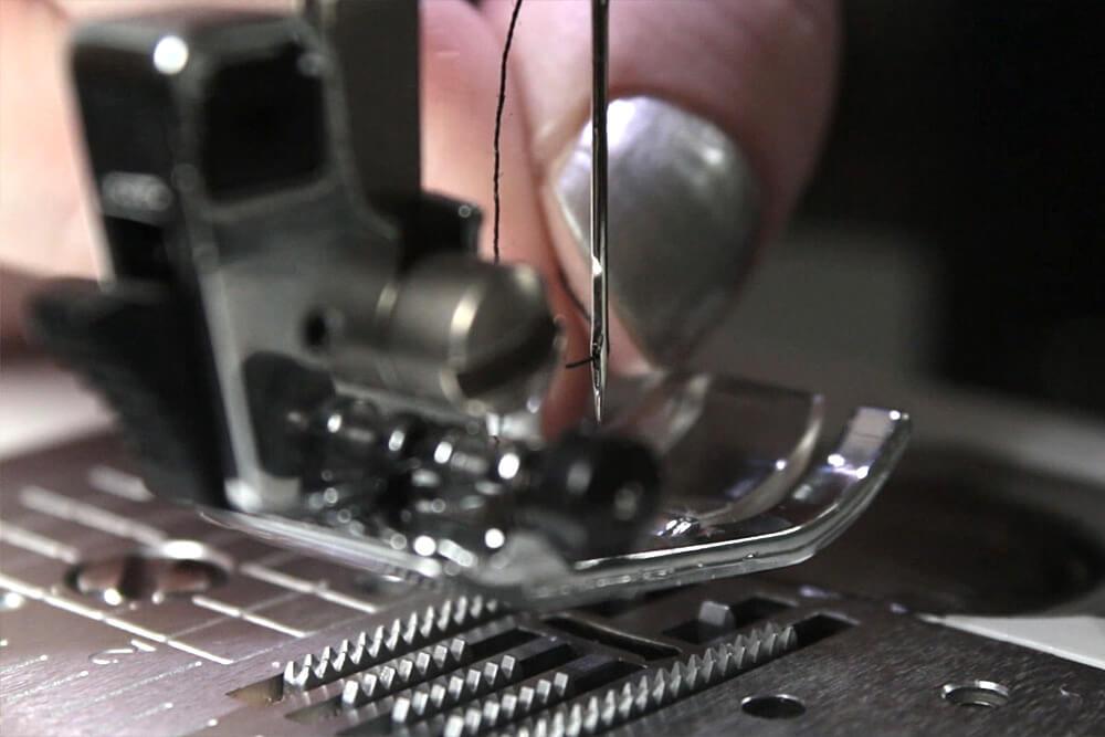Sewing Machine Basics - Thread the needle